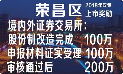 荣昌区企业在境内外证券交易所上市的奖励……